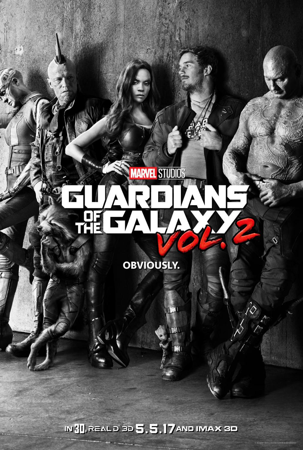 Guardians of the Galaxy vol two - Guardiani della Galassia 2 - poster