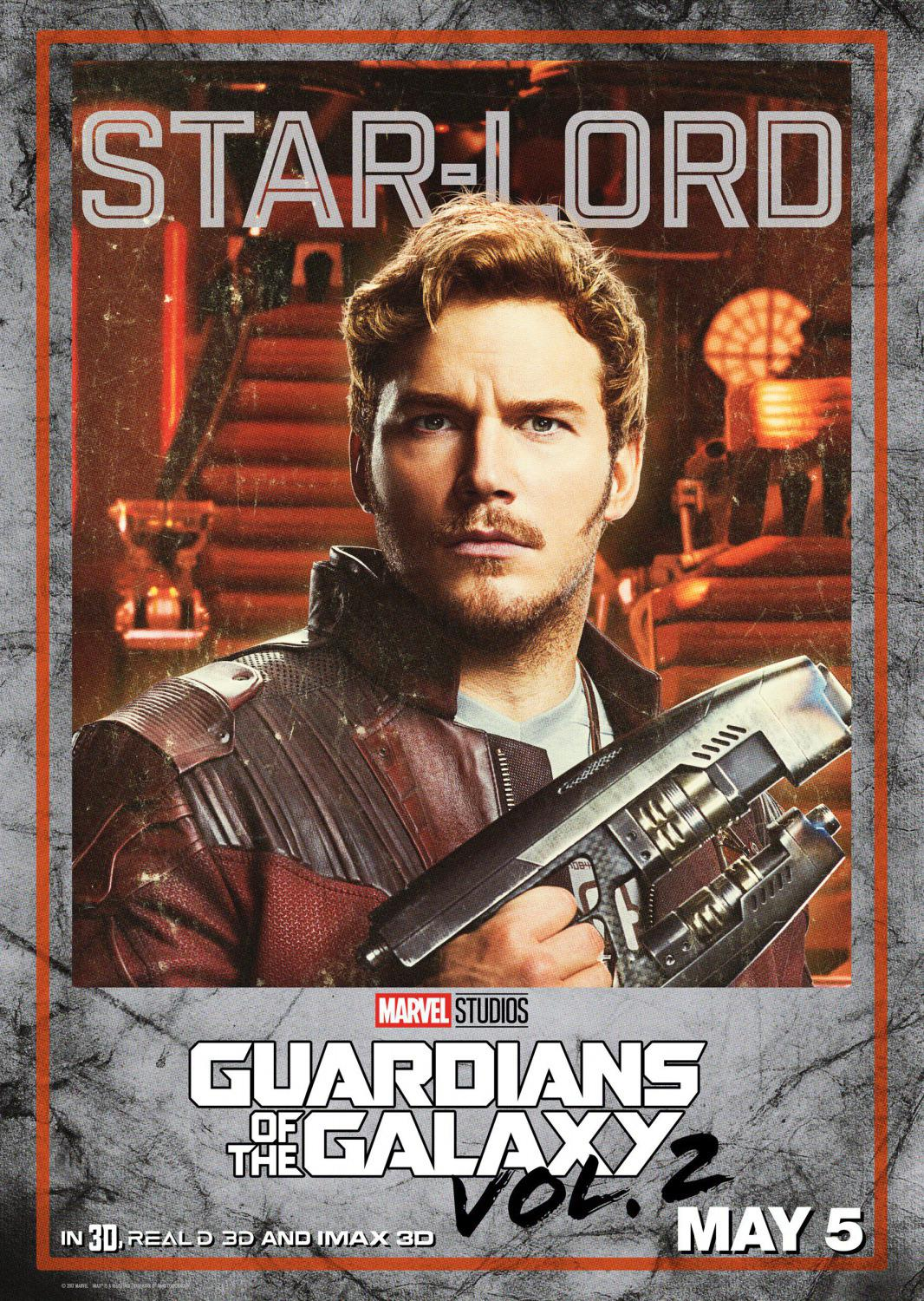 Guardians of the Galaxy vol two - Guardiani della Galassia 2 - Star Lord