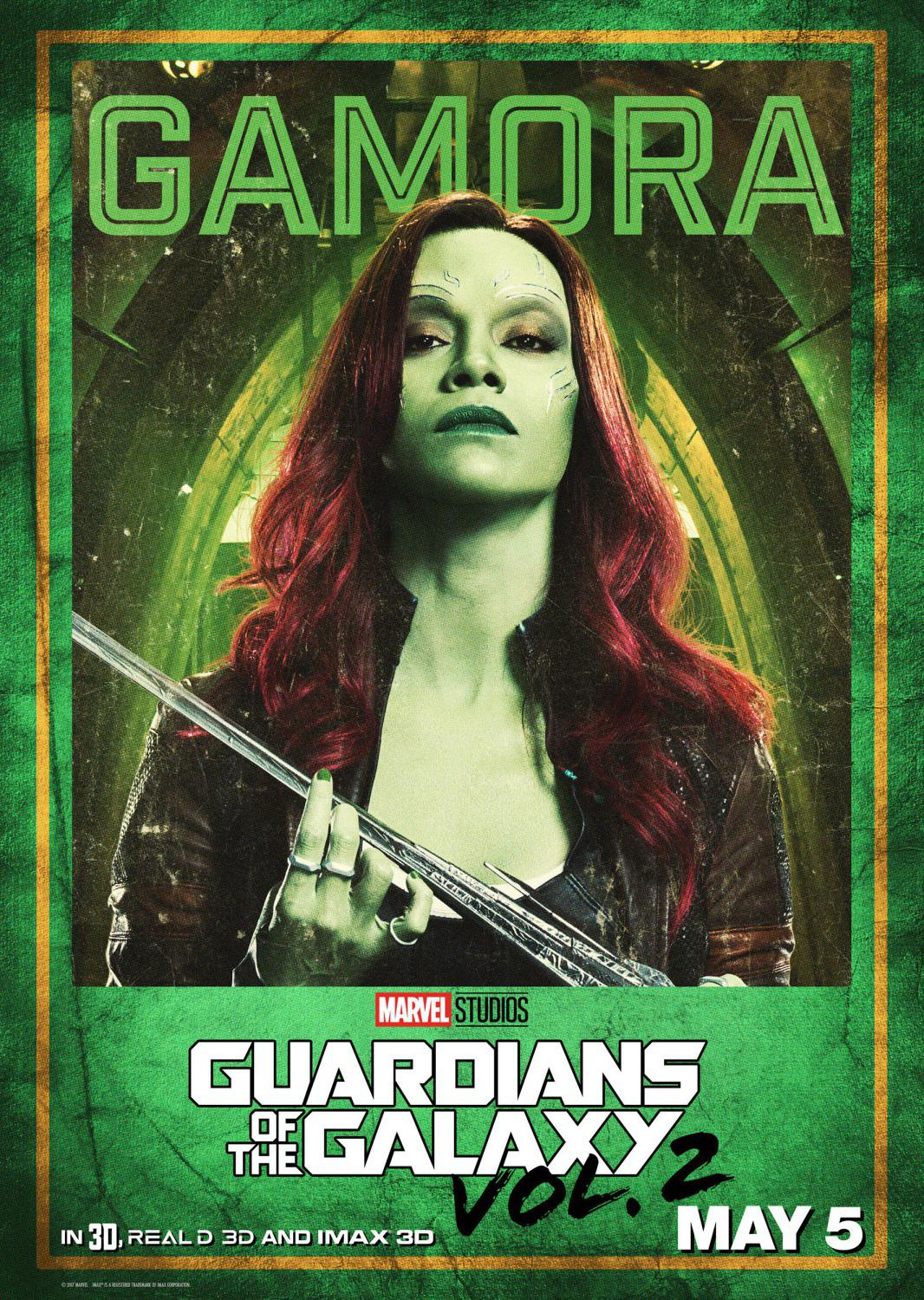 Guardians of the Galaxy vol two - Guardiani della Galassia 2 - Gamora