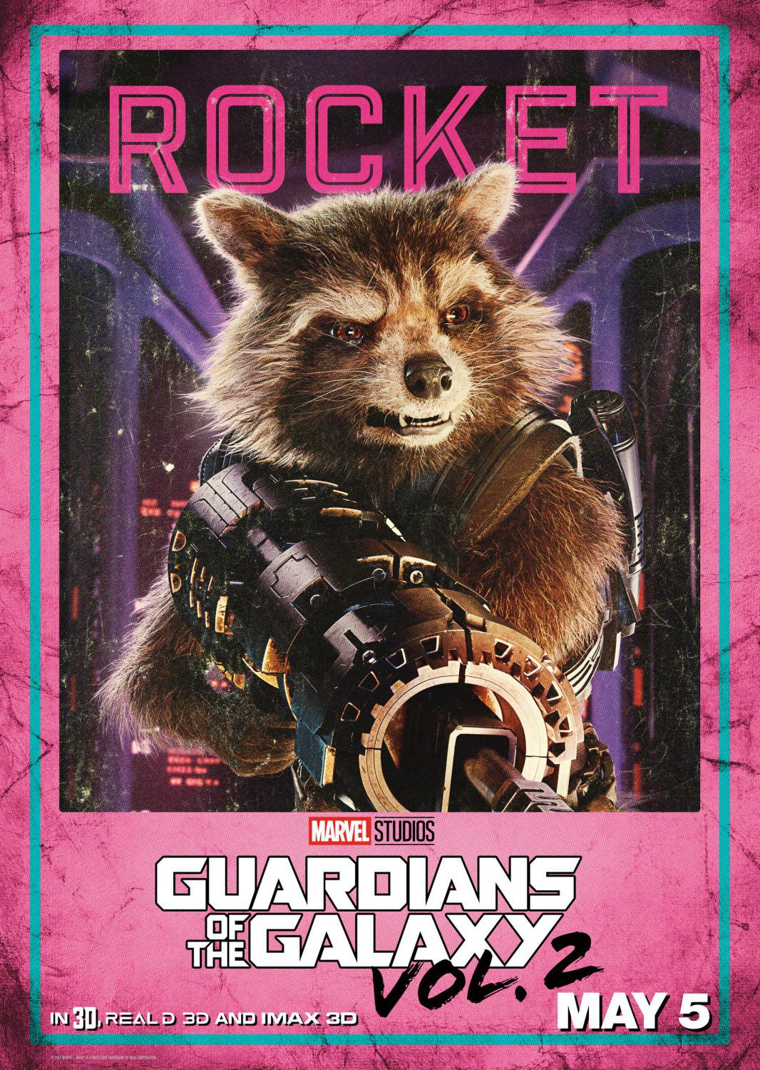 Guardians of the Galaxy vol two - Guardiani della Galassia 2 - Rocket
