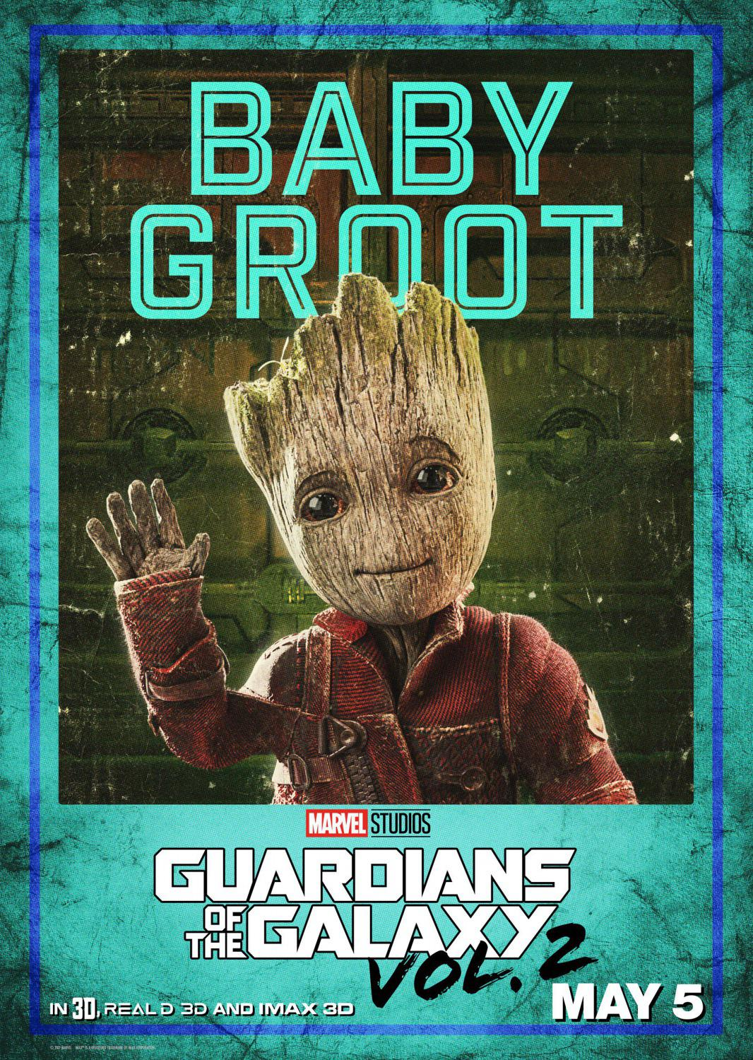 Guardians of the Galaxy vol two - Guardiani della Galassia 2 - Baby Groot
