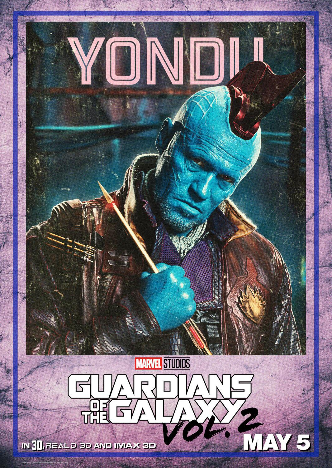 Guardians of the Galaxy vol two - Guardiani della Galassia 2 - Yondu