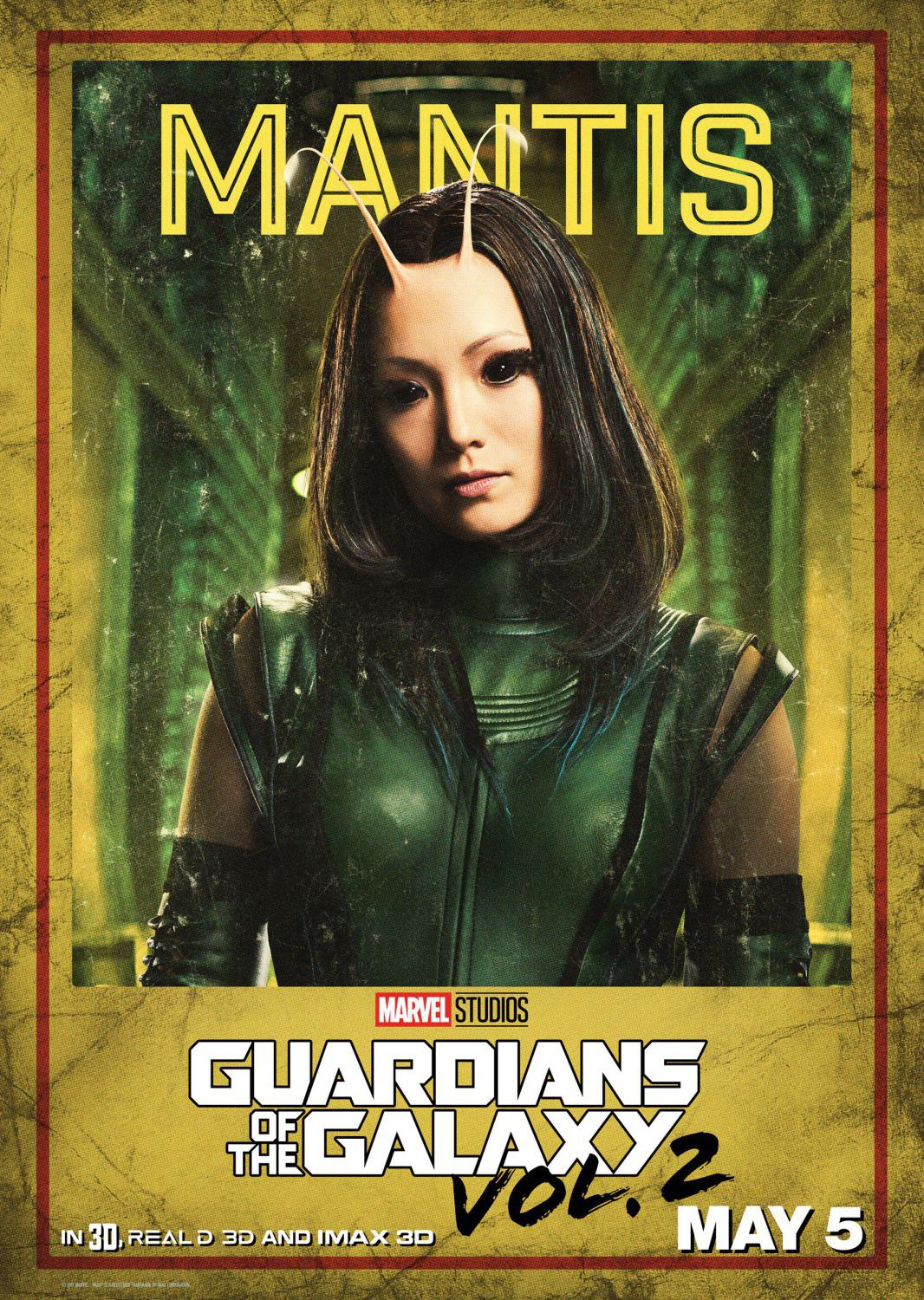 Guardians of the Galaxy vol two - Guardiani della Galassia 2 - Mantis