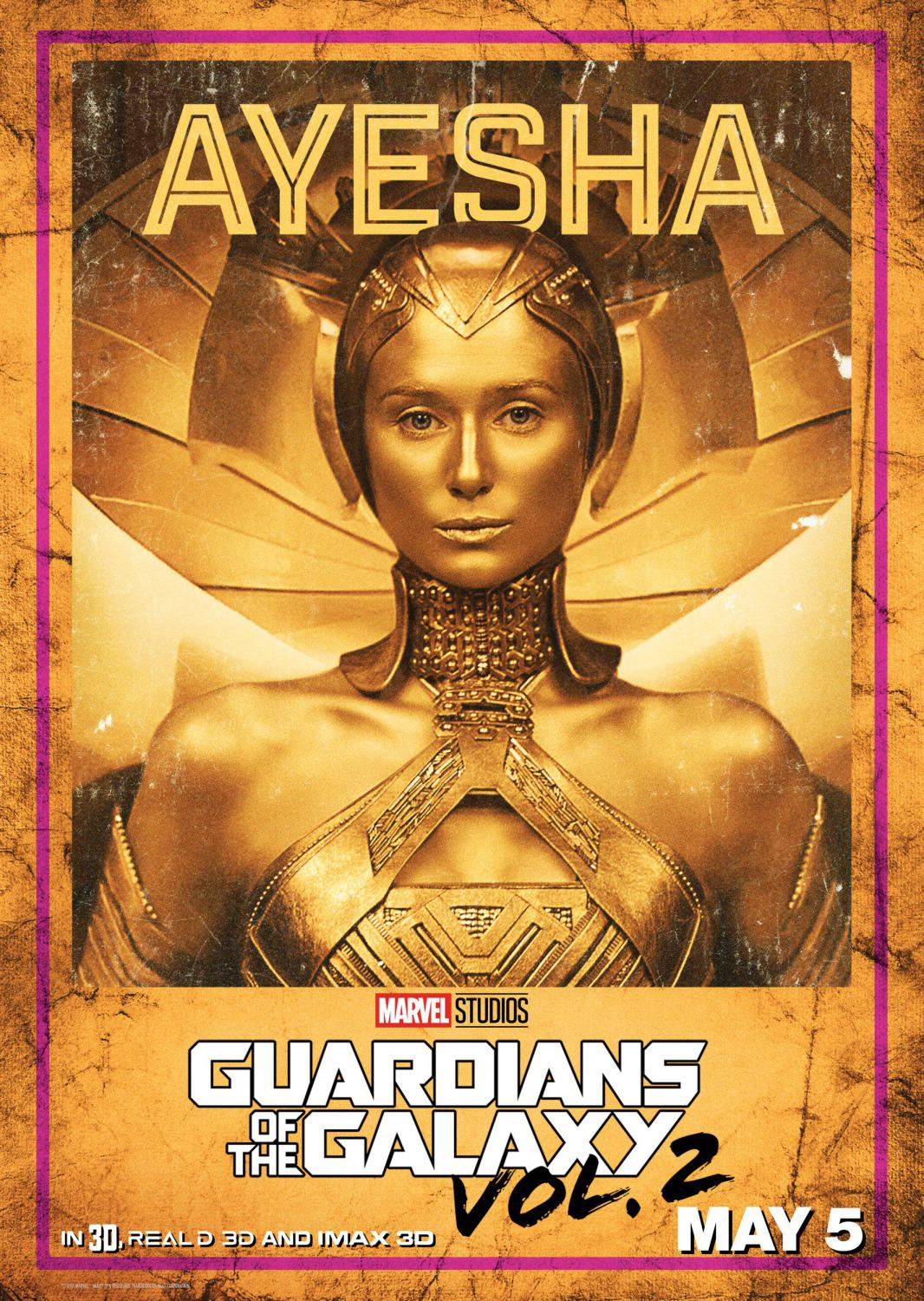 Guardians of the Galaxy vol two - Guardiani della Galassia 2 - Ayesha