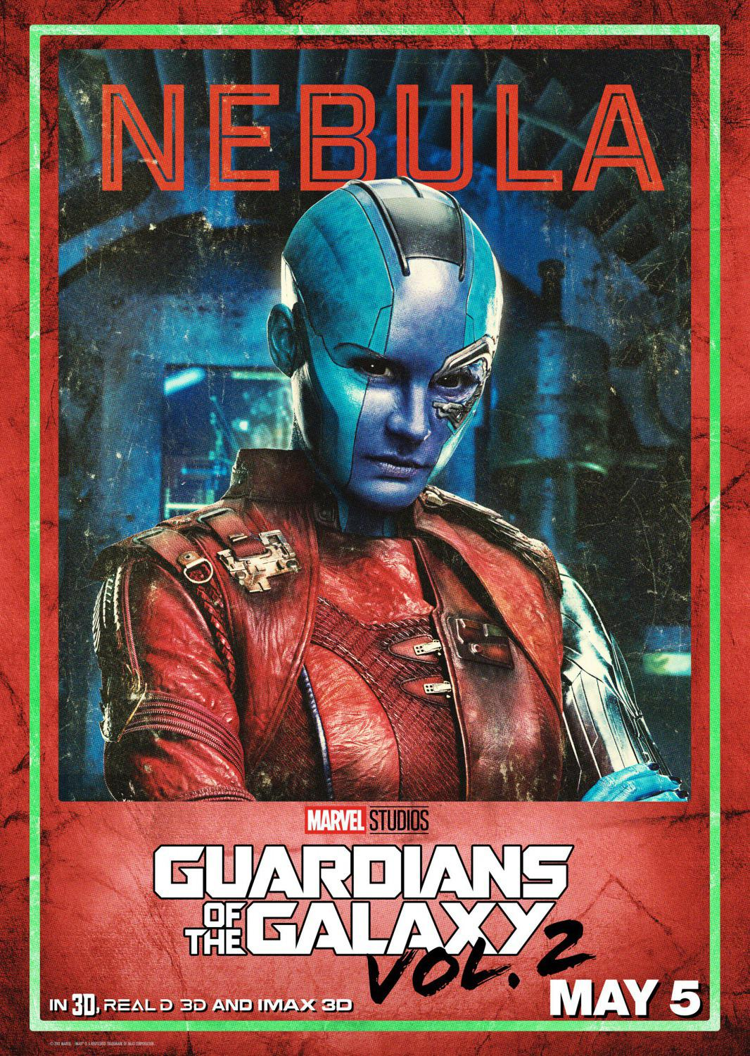 Guardians of the Galaxy vol two - Guardiani della Galassia 2 - Nebula