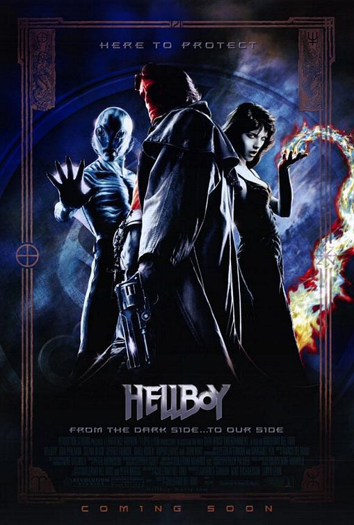 Hellboy - live action film poster