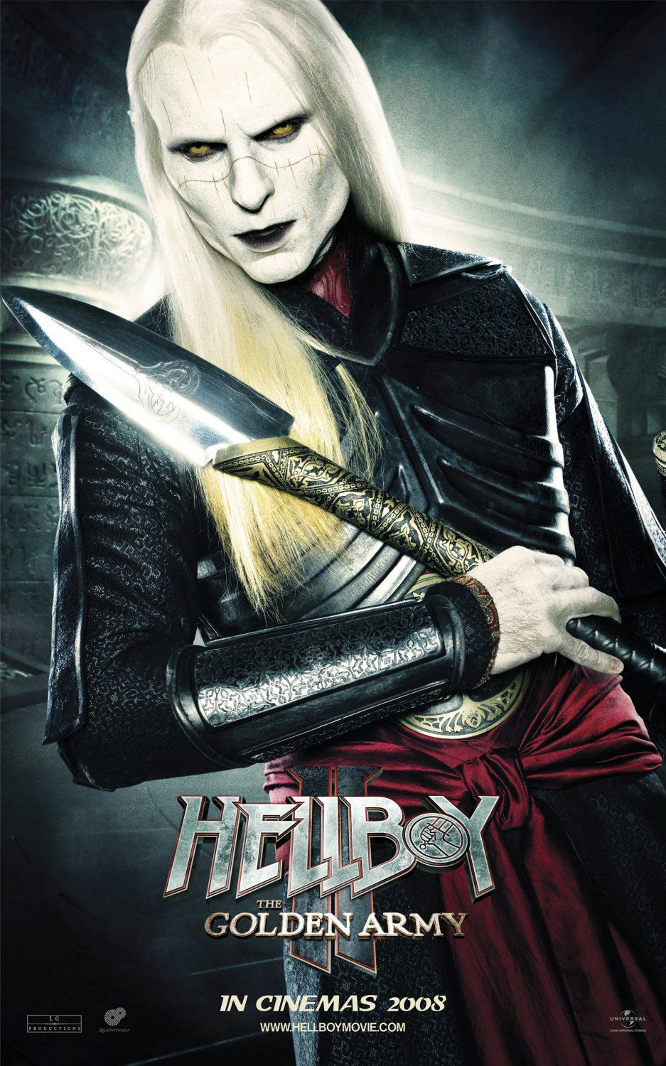 Hellboy 2 - Golden Army - live action film - poster