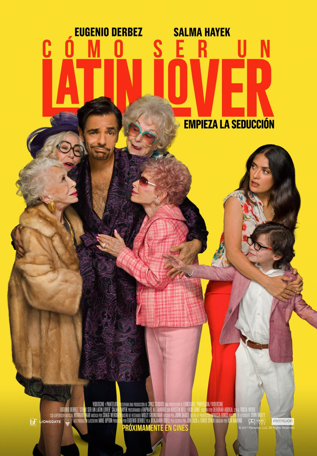 How to be a Latin Lover - Come diventare un Amante Latino - Cómo ser un Latin Lover  - Eugenio Derbez - poster