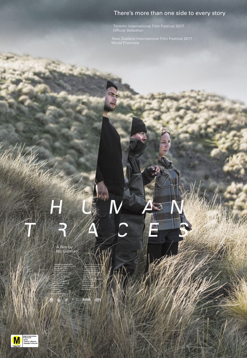 Human Traces - There's more than one side to every story - film poster