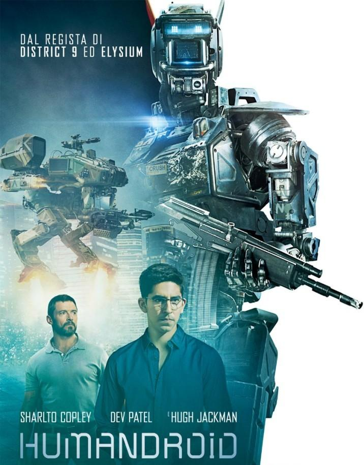 Film Humandroid - movie 2015 - Chappie robot