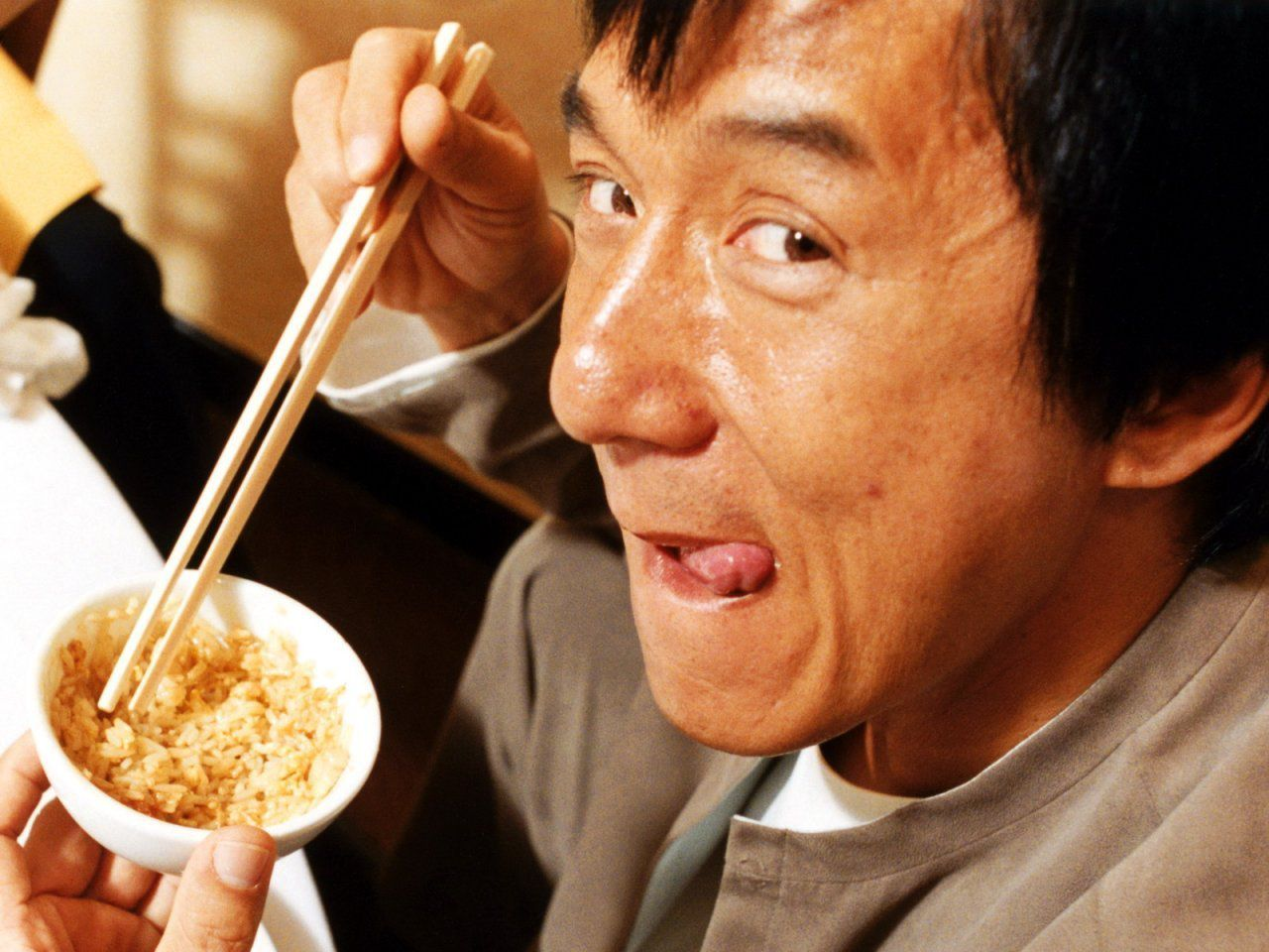 Jackie Chan - chinese food