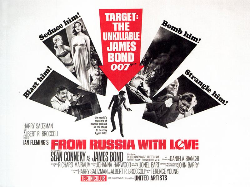 1963 - 007 Dalla Russia con amore - From Russia with love