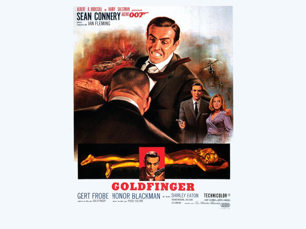 1964 - 007 Missione Goldfinger - Sean Connery as James Bond