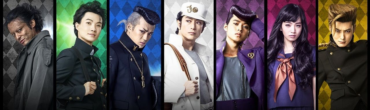 Live action Film - JoJo's Bizarre Adventure Diamond Is Unbreakable - Chapter 1 (le bizzarre avventure di JoJo) - characters - actors