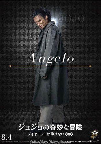 JoJo s Bizarre Adventure - live action film - Angelo