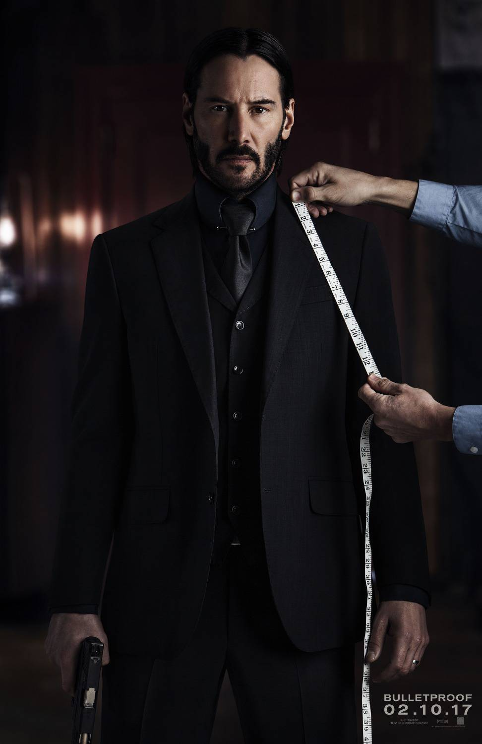John Wick chapter two - Keanu Reeves