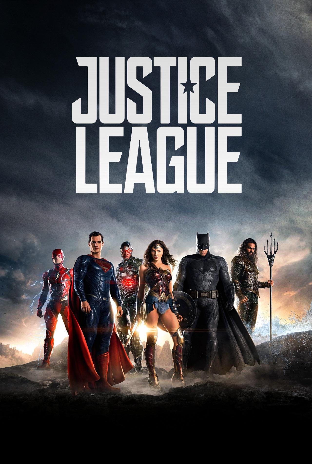 Justice League Acquaman, Superman, Batman, Wonderwoman, Cyborg e Flash poster