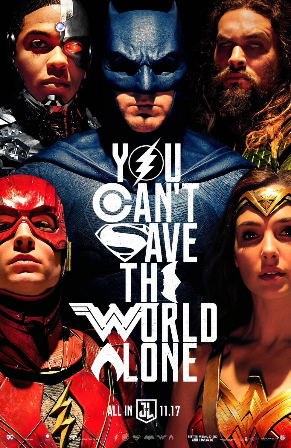 Justice League - super film poster