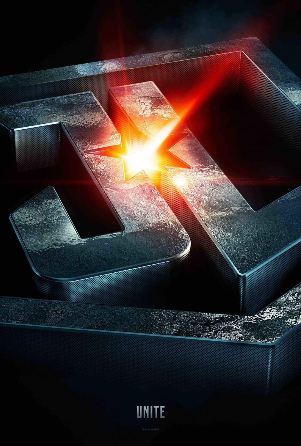 Justice League logo 3d