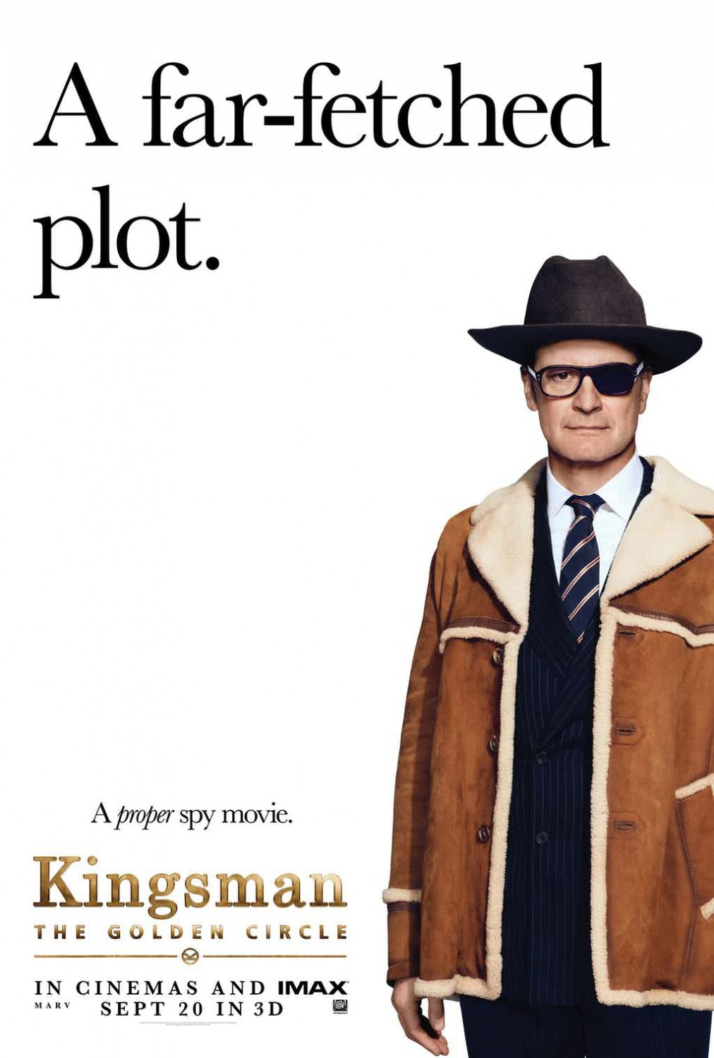 Kingsman 2 - the Golden Circle -  a far-fetched plot