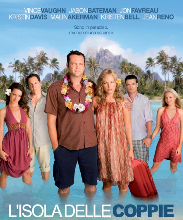 L'isola delle coppie (Couples Retreat) - romantic love commedy - commedia romantica
