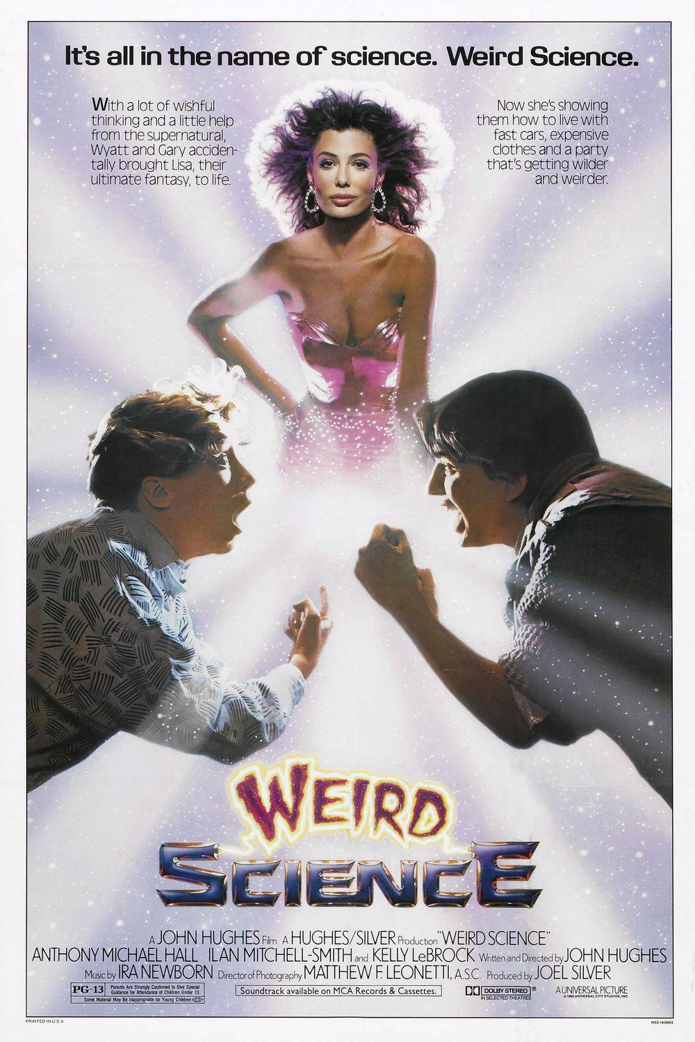 La Donna Esplosiva - Weird Science - film 80s con Kelly LeBroc, Robert Dawney Jr e Anthony Michael Hall