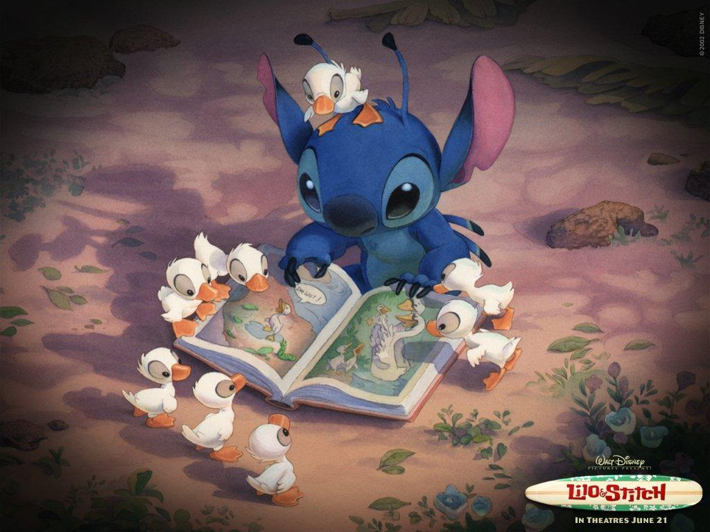 Stitch - fable book