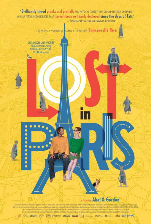 Lost in Paris - Paris Pieds Nus - Fiona Gordon - Dominique Abel - Emanuelle Riva