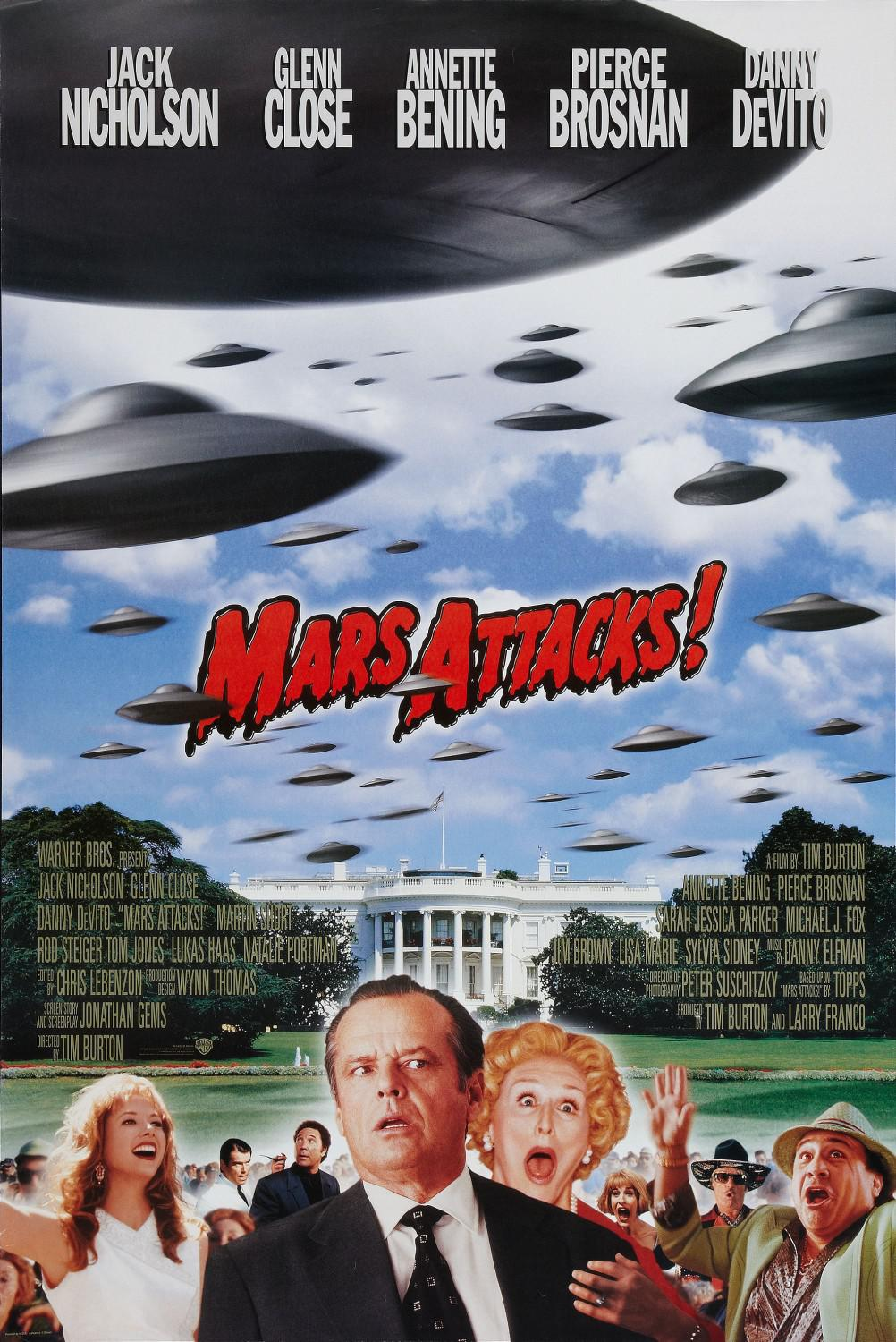Mars Attacks - film poster
