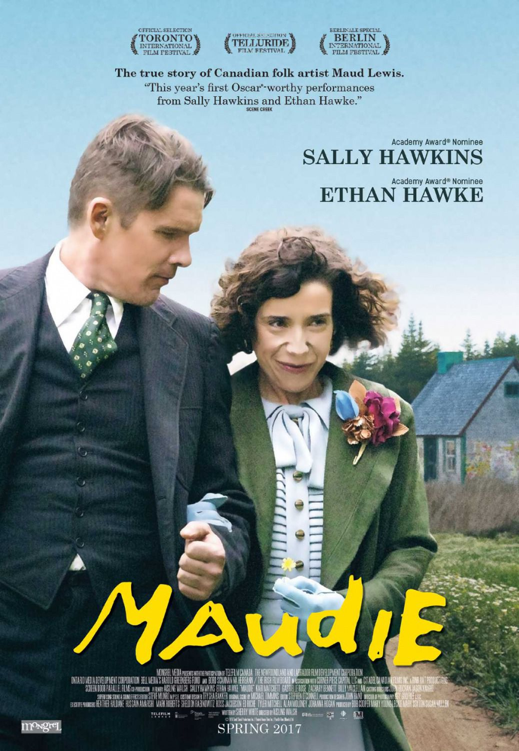 Film poster - Maudie