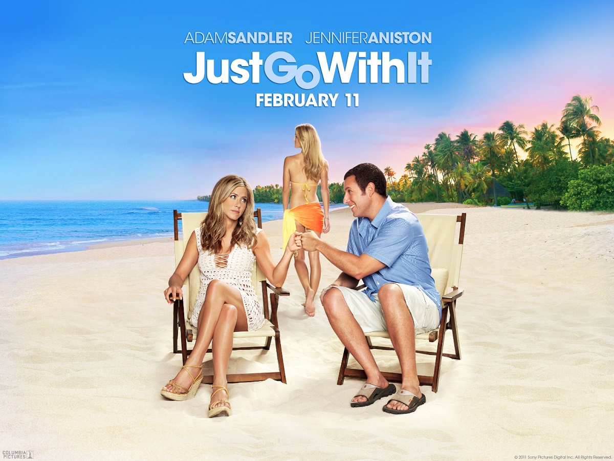 Mia moglie per finta - Just Go with It - Danny Maccabee (Adam Sandler) - Katherine Murphy (Jennifer Aniston) - Palmer Dodge (Brooklyn Decker)