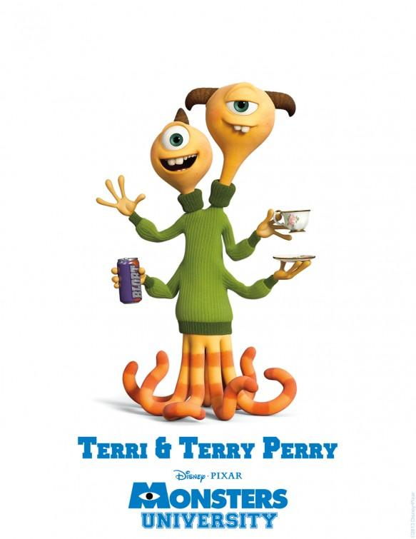 Monsters University ... Terry & Terry Perry