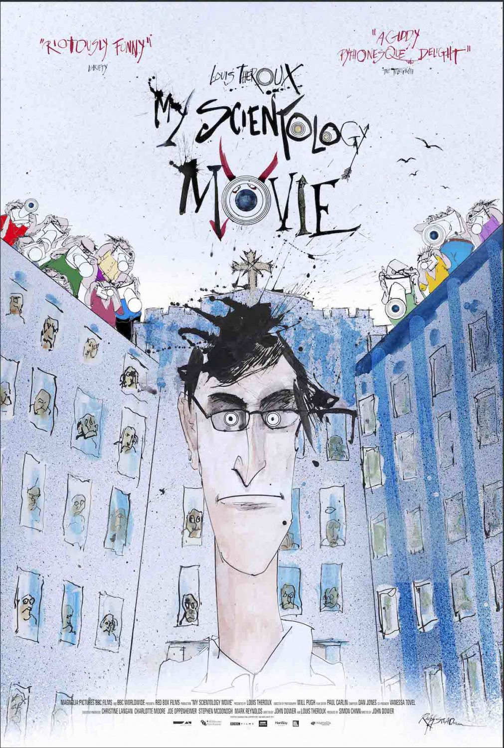 My Scientology Movie - by John Dower - Louis Theroux, Tom De Vocht, Marty Rathbun, Jefferson Hawkins - film poster