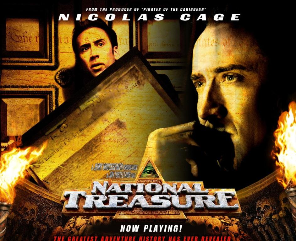 National Treasure - Nicolas Cage
