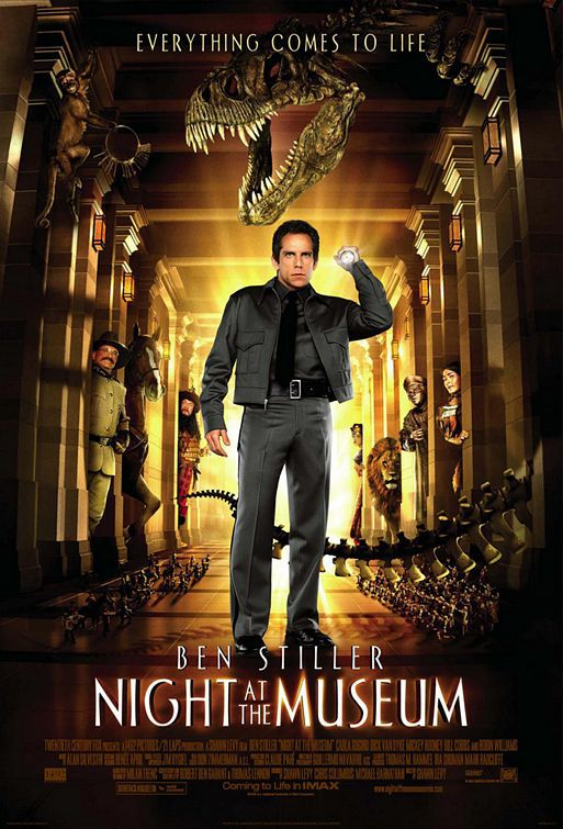 Film - Una Notte al Museo - Night at the Museum - poster