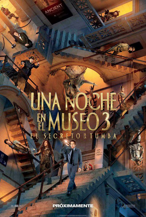 Una Notte al Museo 3 - Night at the Museum 3 - Secret of the Tomb