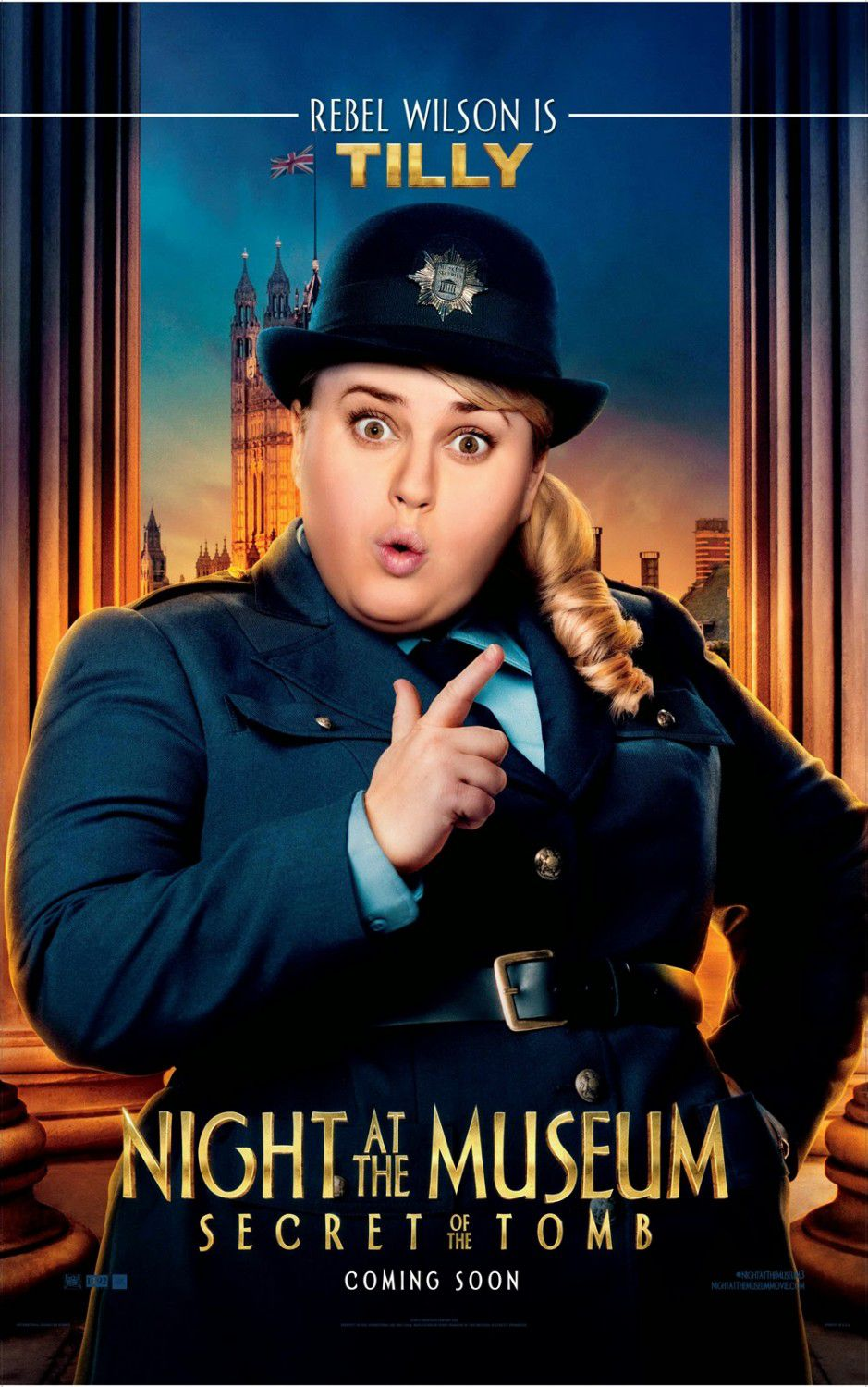 Una Notte al Museo 3 - Night at the Museum 3 - Secret of the Tomb - poster - Tilly (Rebel Wilson)