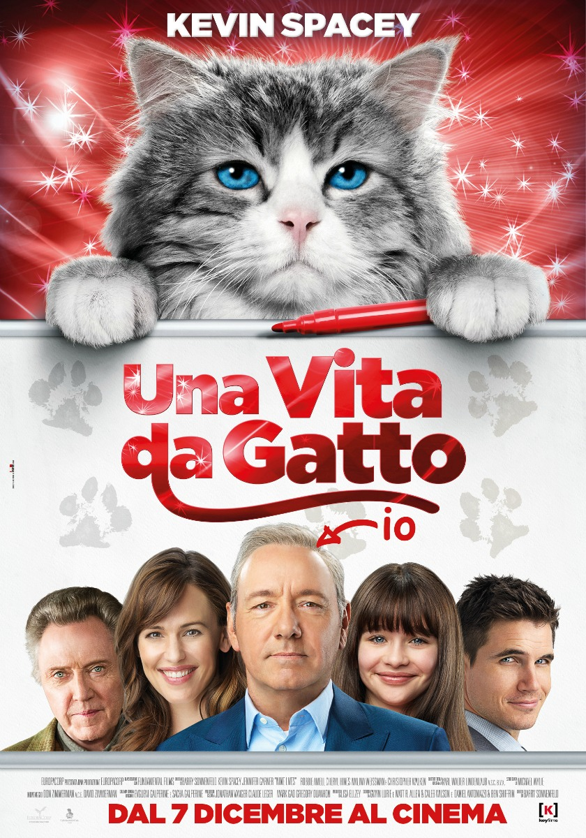Nine lives - Una vita da Gatto 2016