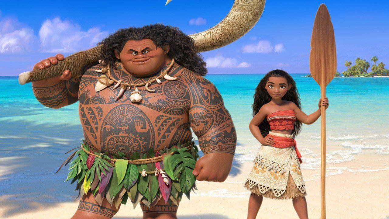 Oceania - film Disney 2016 - Maui semidio - Moana Princess