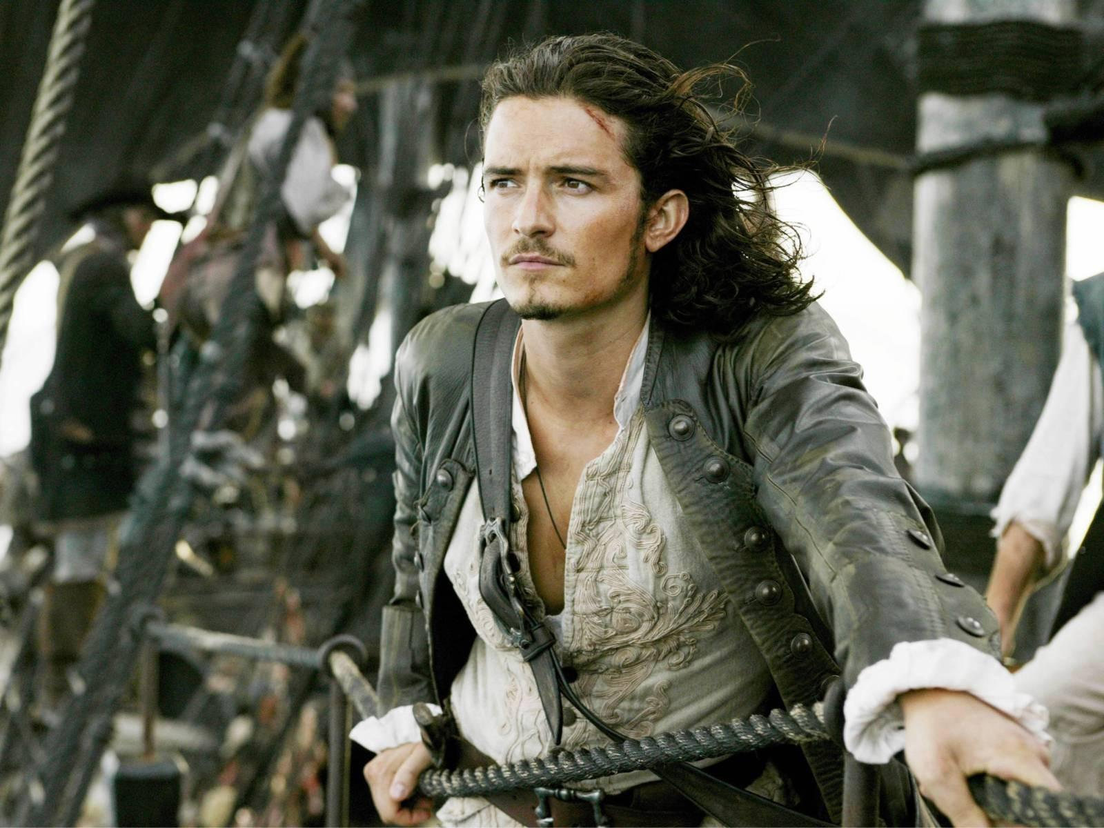 Orlando Bloom ... ovvero Will Truner nel Pirati dei Caraibi