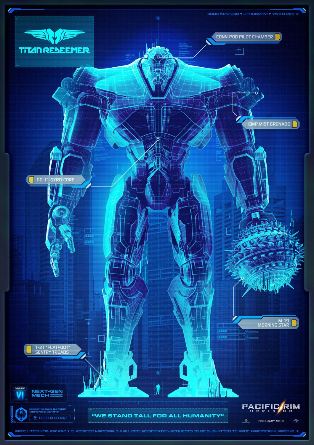 Pacific Rim Uprising - Titan Redeemer - Pan Pacific Defense Corps