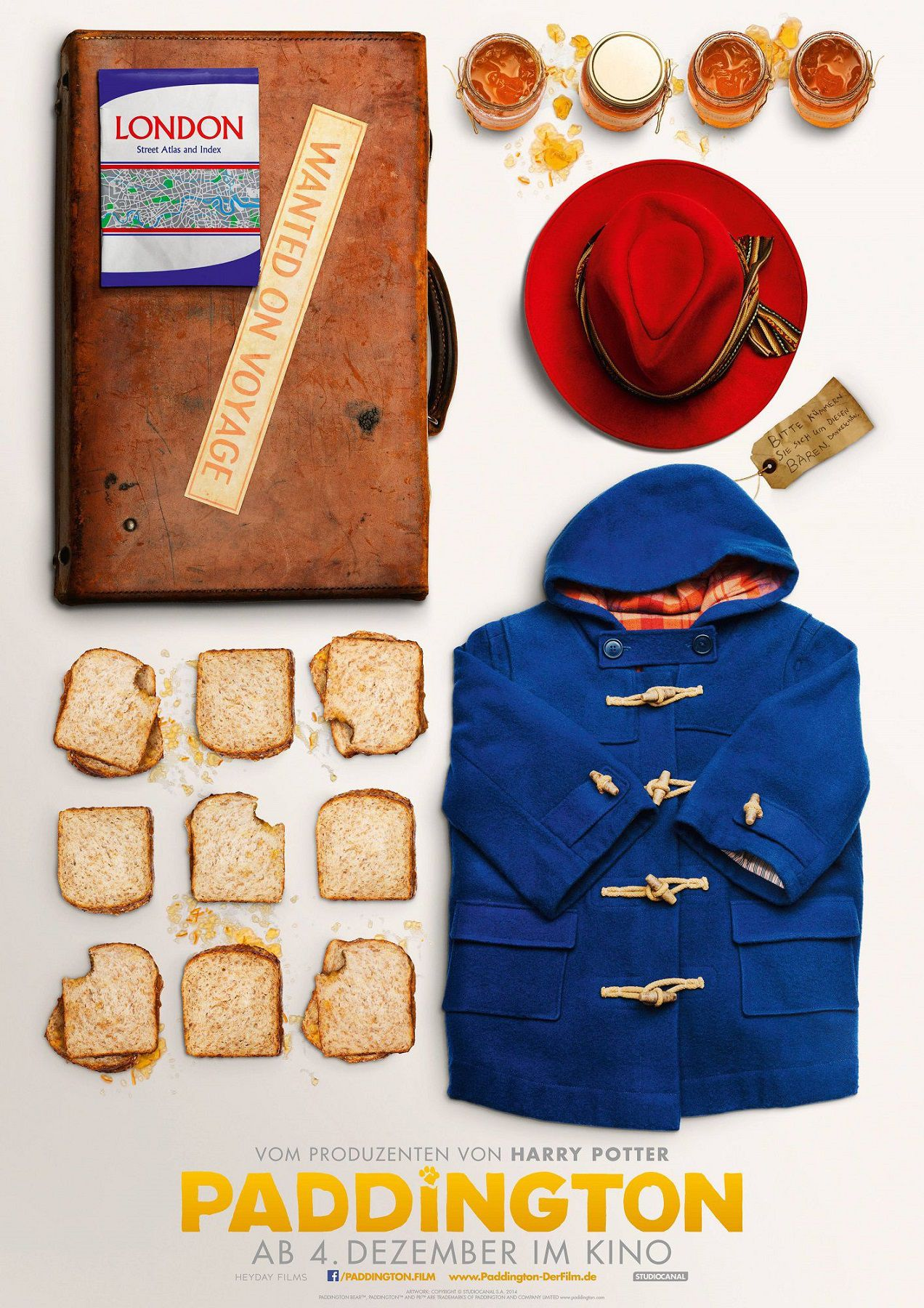 Paddington - bag - dress - honey