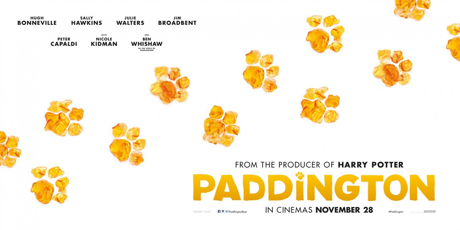 Paddington - poster  - impronte - fingerprints