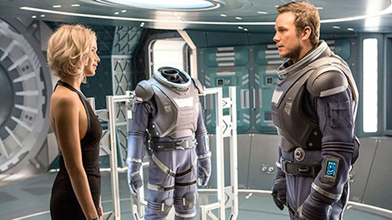 Passengers - film fantascienza 2016 - movie con Jennifer Lawrence e Chris Pratt