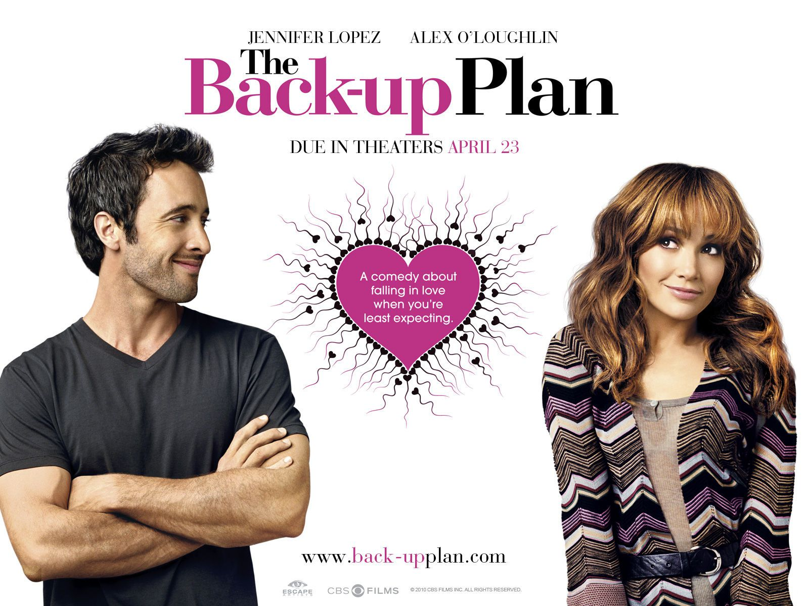 Piacere sono un po' incinta - The Back-Up Plan - Zoe (Jennifer Lopez) - Stan (Alex O'Loughlin)