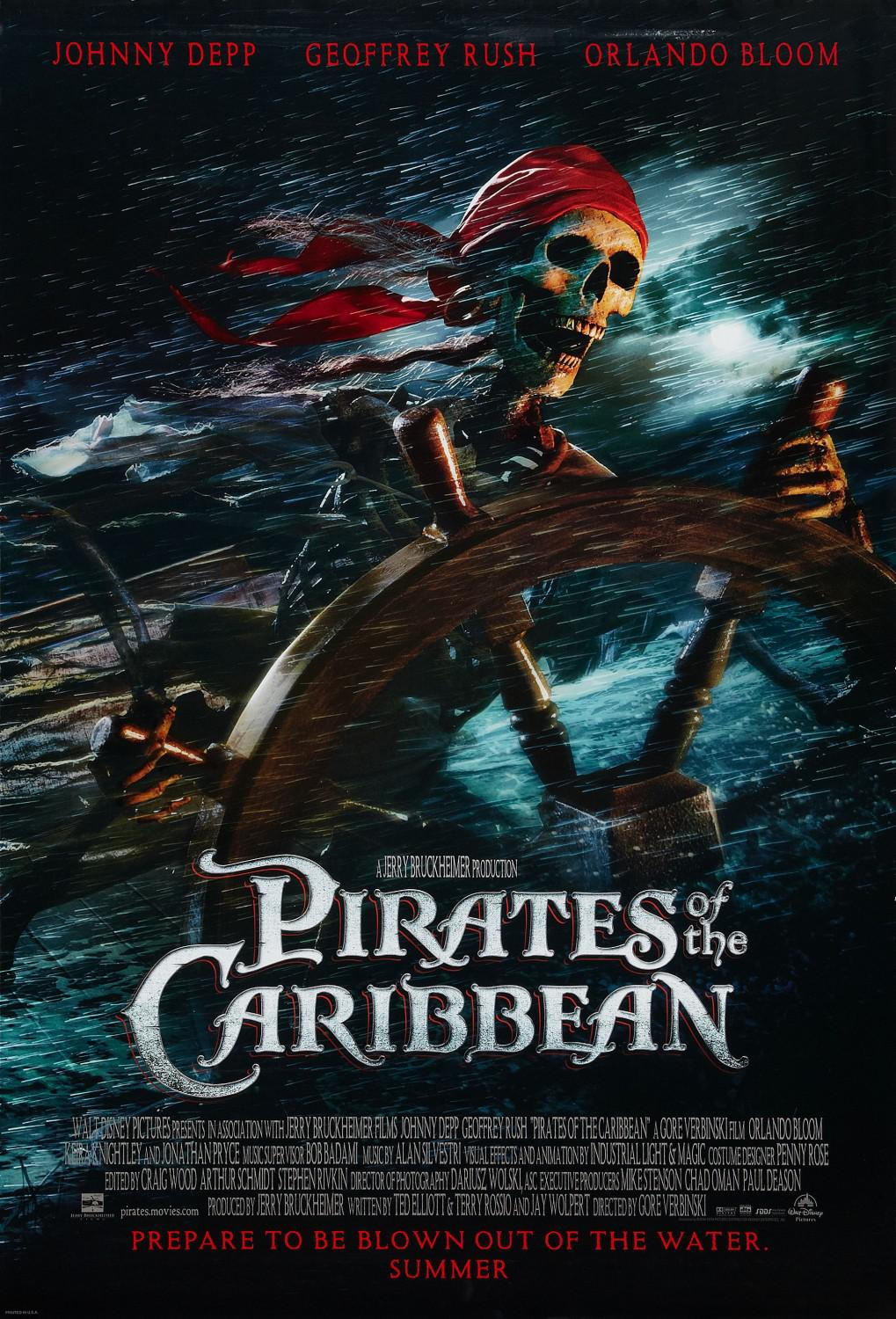 Pirati dei Caraibi - La Maledizione della prima Luna - Pirates of the Caribbean: The Curse of the Black Pearl - poster