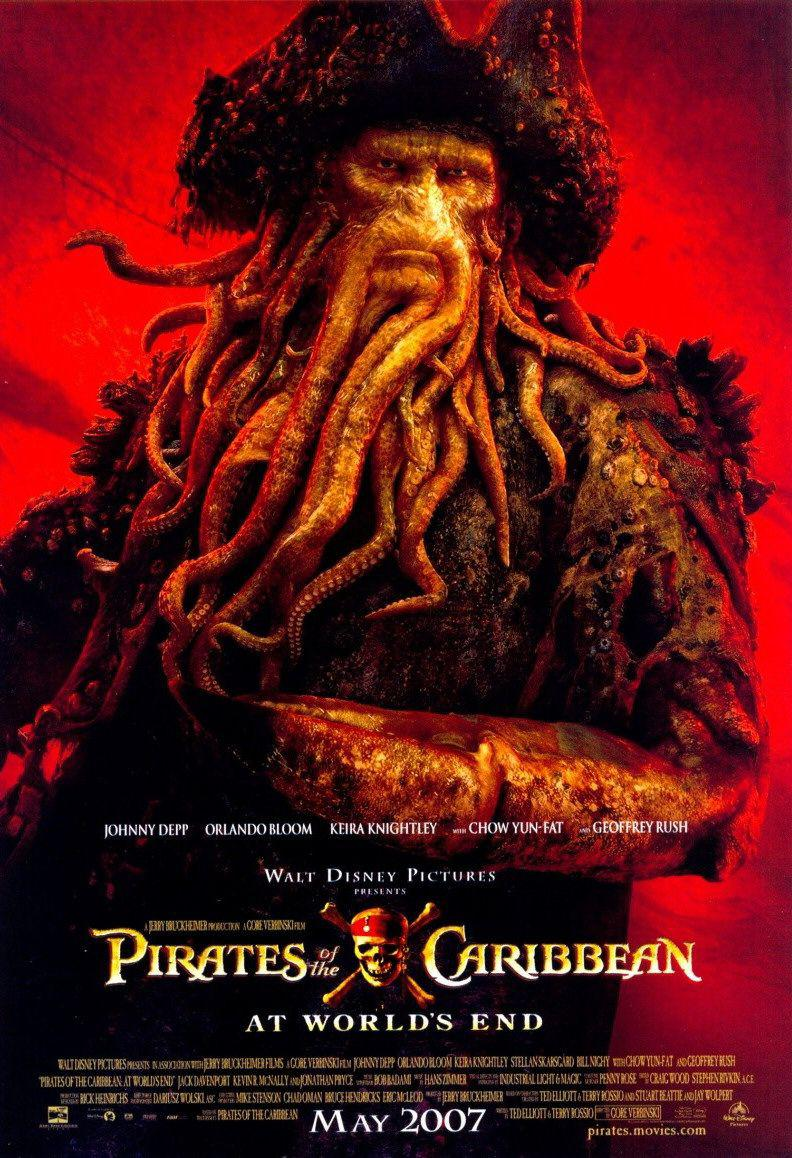 Film - Pirati dei Caraibi 3 aii Confini del Mondo - Pirates of the Caribbean at Worlds End - poster