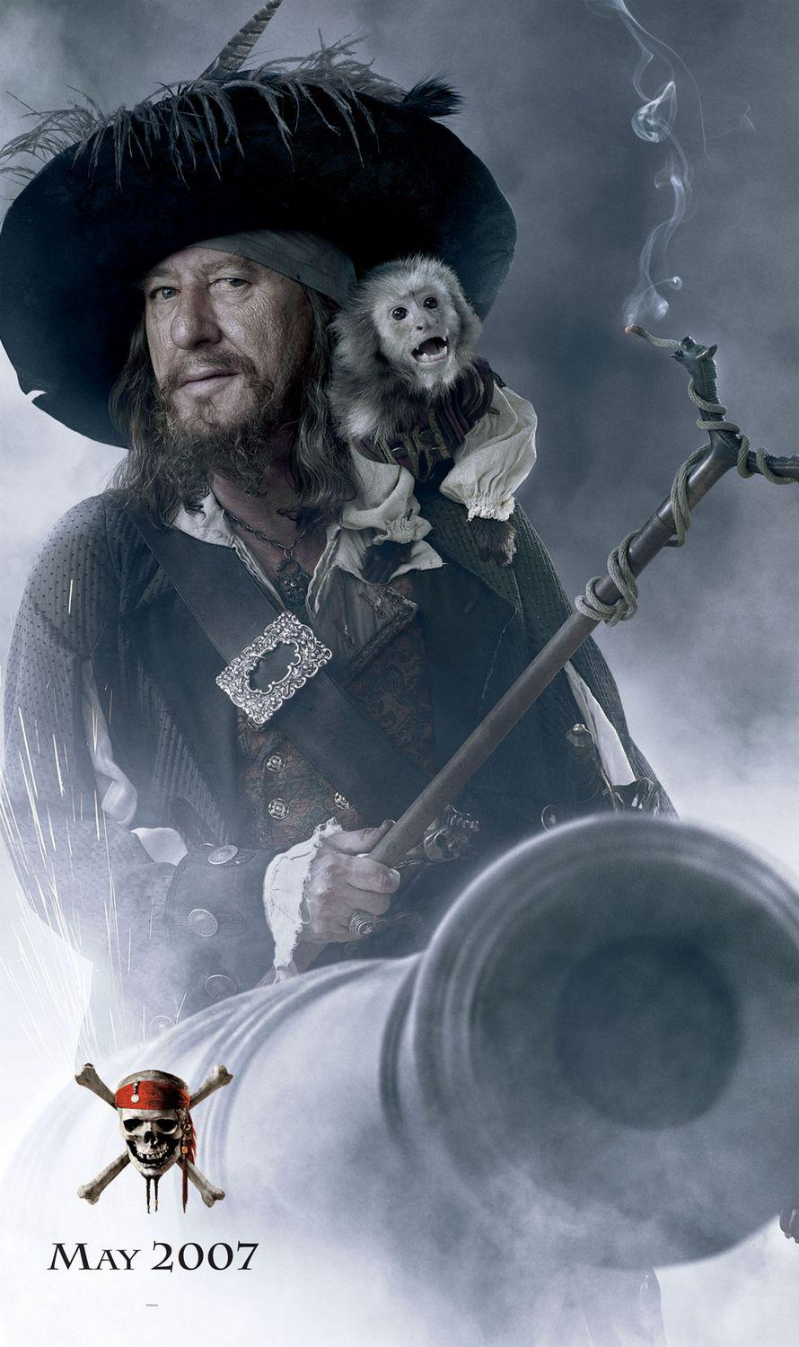 Film - Pirati dei Caraibi 3 aii Confini del Mondo - Pirates of the Caribbean at Worlds End - poster  - Geoffrey Rush