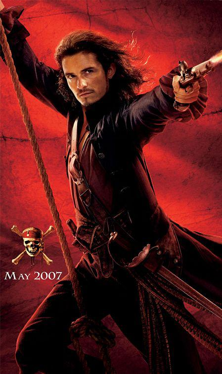 Film - Pirati dei Caraibi 3 aii Confini del Mondo - Pirates of the Caribbean at Worlds End - poster  - Orlando Bloom