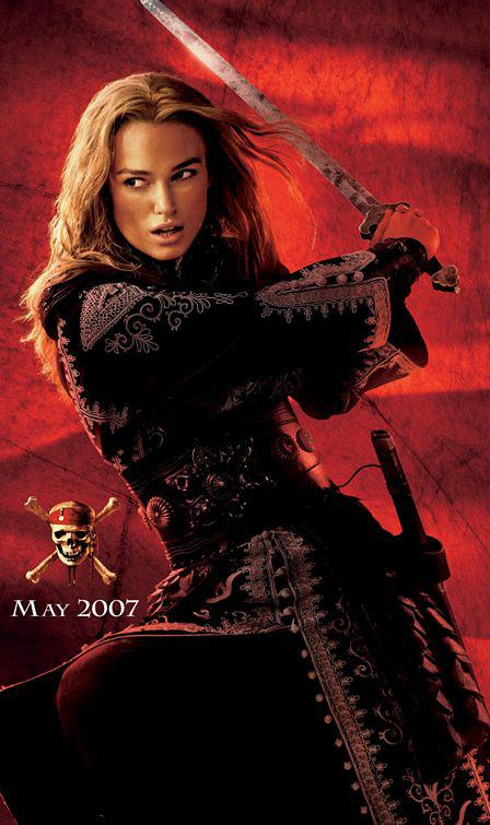Film - Pirati dei Caraibi 3 aii Confini del Mondo - Pirates of the Caribbean at Worlds End - poster  - Keira Knightley